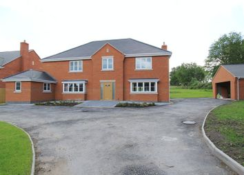 Thumbnail 6 bed detached house for sale in Pinewood Road, Ashley Heath, Market Drayton