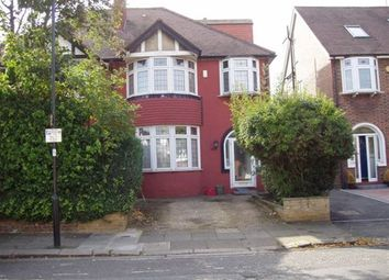 Thumbnail 4 bed semi-detached house to rent in Brunswick Road, Ealing, London