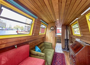 Thumbnail 1 bedroom houseboat for sale in Wenlock Basin 56A Wharf Road, London