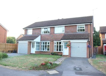 Thumbnail 3 bed semi-detached house for sale in Armstrong Way, Woodley, Reading