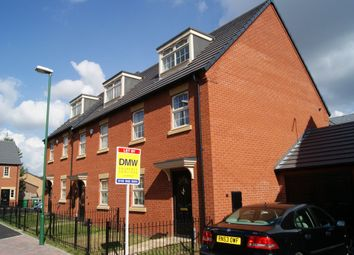 Thumbnail 3 bed terraced house to rent in Lido Close, Bulwell, Nottingham