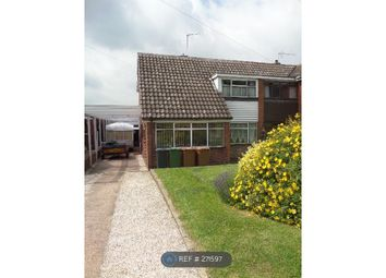 Thumbnail 3 bed semi-detached house to rent in Fallowfield Road, Walsall