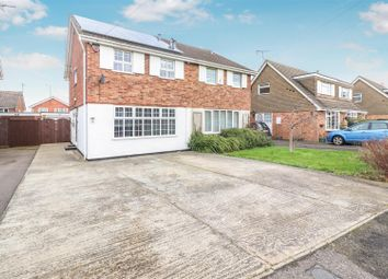3 bed semi-detached house for sale in Silverdale Grove, Rushden NN10