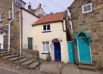 Thumbnail 1 bed semi-detached house for sale in New Road, Robin Hoods Bay, Whitby, North Yorkshire