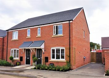 Thumbnail 3 bed semi-detached house for sale in Krier Fields, Pershore