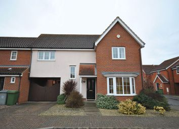 Thumbnail 4 bedroom link-detached house for sale in Mountbatten Drive, Sprowston, Norwich