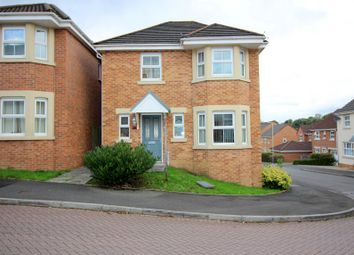 Thumbnail 4 bed detached house for sale in Underwood Place, Brackla, Bridgend County.
