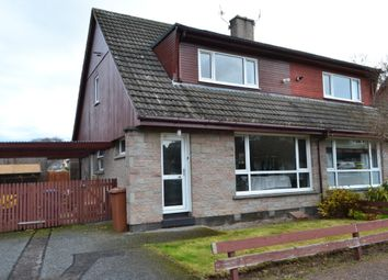 Thumbnail 3 bed semi-detached house for sale in 21 Thornhill Place, Forres