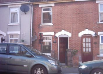 Thumbnail 3 bed terraced house to rent in Kendall Road, New Town, Colchester, Essex
