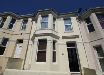 Thumbnail 4 bed terraced house to rent in Rosebery Avenue, Plymouth