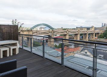 Thumbnail 2 bed flat to rent in Clavering Place, Newcastle Upon Tyne