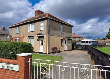 Thumbnail 2 bed semi-detached house for sale in Millfield, Bedlington