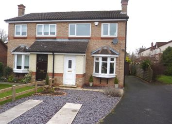 Thumbnail 3 bedroom semi-detached house for sale in Crestbrooke, Northallerton