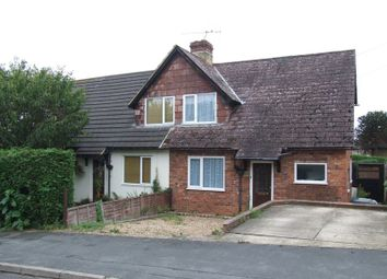 Thumbnail 2 bed semi-detached house to rent in More Road, Godalming