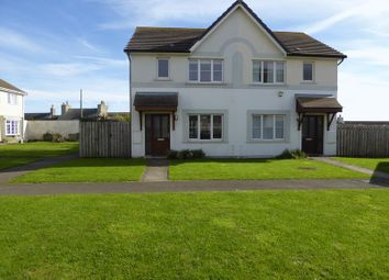 Thumbnail 3 bed semi-detached house for sale in Scarlett Road, Castletown, Isle Of Man