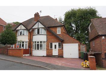 Thumbnail 3 bedroom semi-detached house for sale in Oakham Avenue, Dudley