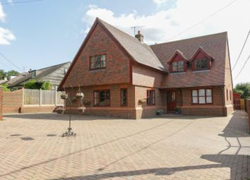 Thumbnail 5 bed detached house for sale in Radfall Road, Chestfield, Whitstable