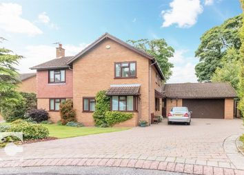 Thumbnail 4 bed detached house for sale in Leighton Park, Neston, Cheshire