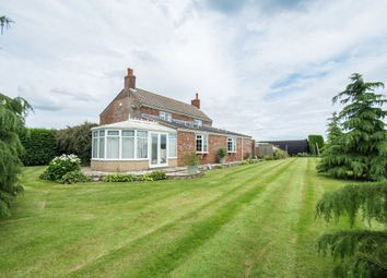 Thumbnail 3 bed detached house for sale in Hobhole Bank, New Leake, Boston