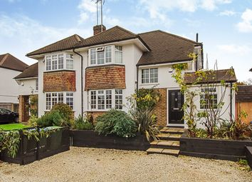 Thumbnail 4 bed property for sale in Severn Drive, Esher