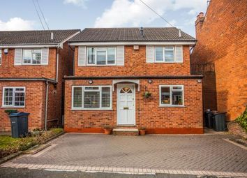Thumbnail 3 bed detached house for sale in Regent Road, Harborne, Birmingham, West Midlands