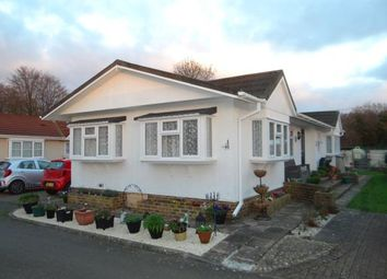 Thumbnail 2 bed mobile/park home for sale in Stoneway Park, Stone Street, Canterbury, Kent
