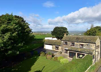 Thumbnail 5 bed farmhouse for sale in Hollin Hall Lane, Mirfield