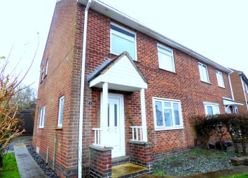 Thumbnail 3 bed semi-detached house for sale in Hermitage Avenue, Borrowash, Derby