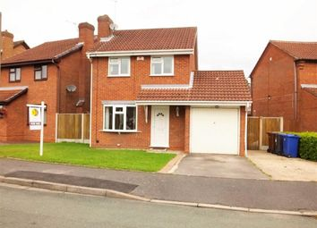 Thumbnail 3 bed detached house for sale in Crest Close, Burton On Trent, Staffs