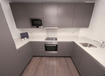 Thumbnail 1 bed flat to rent in Saffron Square, London