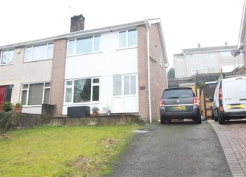Thumbnail 3 bed semi-detached house for sale in Grosvenor Road, Bassaleg, Newport
