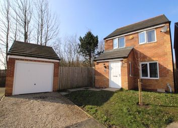 Thumbnail 3 bed detached house for sale in Hedley Close, New Kyo, Stanley