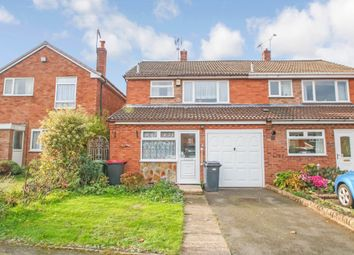 Thumbnail 3 bed semi-detached house for sale in Croft Road, Atherstone