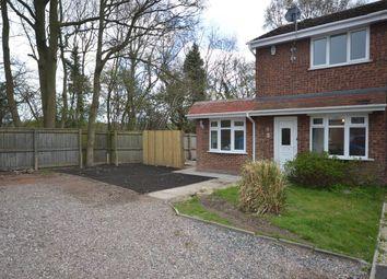 Thumbnail 2 bed semi-detached house to rent in Mere Oak Road, Perton, Wolverhampton