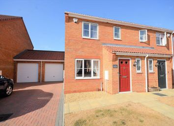 Thumbnail 3 bed semi-detached house for sale in 12 Bourne Close, Sleaford