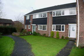Thumbnail 3 bed terraced house to rent in Websters Way, Over, Cambs