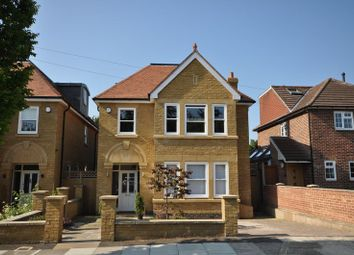 Thumbnail 5 bed detached house for sale in Halifax Close, Teddington