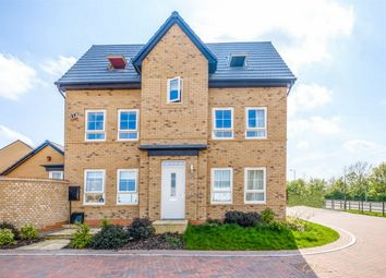 Thumbnail 5 bed semi-detached house for sale in Foren Crescent, Godmanchester, Huntingdon