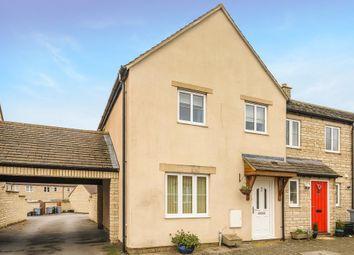 Thumbnail End terrace house for sale in Shilton Park, Carterton, Oxfordshire