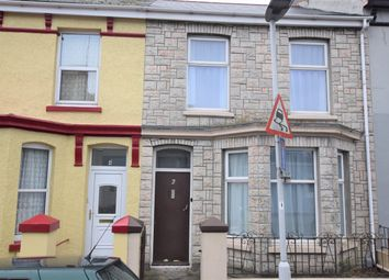Thumbnail 3 bed terraced house for sale in Chudleigh Road, Lipson, Plymouth, Devon