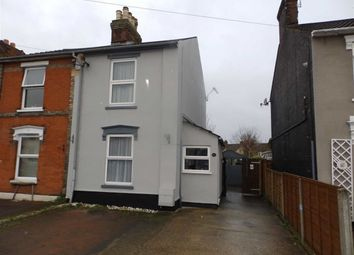 Thumbnail 2 bed semi-detached house for sale in Tomline Road, Ipswich