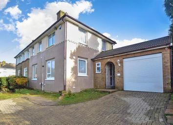 Thumbnail 4 bedroom semi-detached house for sale in Milton Close, Dover, Kent