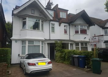 Thumbnail 3 bed flat to rent in North End Rd, London