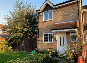 Thumbnail 2 bedroom end terrace house for sale in Coltsfoot Green, Luton