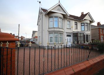 Thumbnail 4 bed semi-detached house for sale in Central Drive, Blackpool, Lancashire