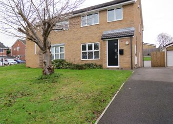 Thumbnail 3 bed semi-detached house for sale in Exley Close, Warmley, Bristol