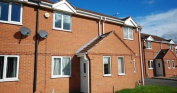 Thumbnail 2 bed town house to rent in Primrose Close, Derbyshire