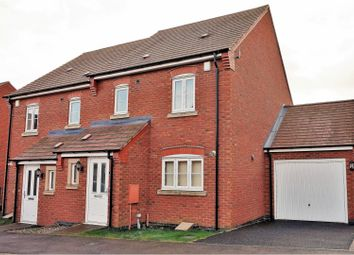 Thumbnail 3 bed semi-detached house for sale in Chamberlains Field, Leicester