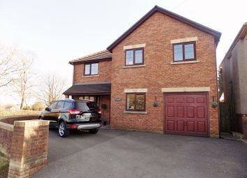 Thumbnail 4 bed detached house for sale in Ty Cornel Garfield Avenue, Litchard, Bridgend.