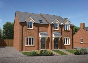 Thumbnail 2 bed semi-detached house for sale in Plot 5 Iris Close, Top Street, Appleby Magna, Leicestershire